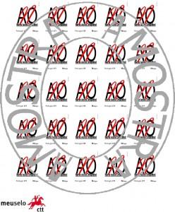 Crie os seus próprios selos de correio contra o Acordo Ortográfico