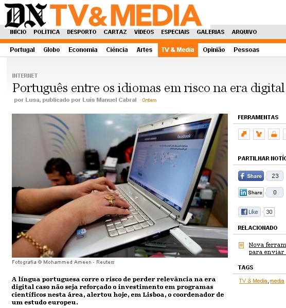 notícia DN/Lusa, 16.11.12